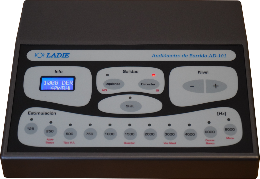 Foto principal del audiómetro AD-101