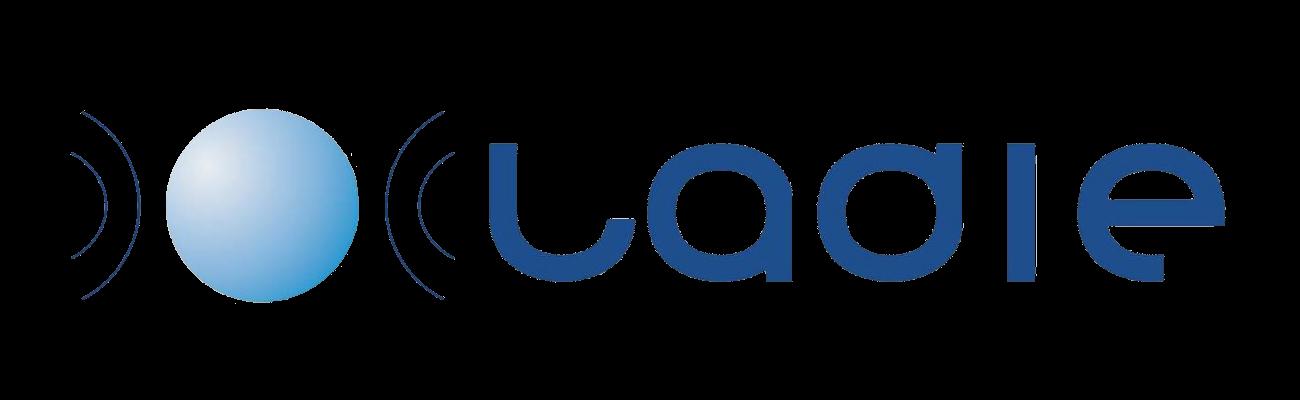 Logo azul de LADIE